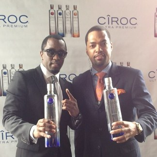 "Diddy and Ciroc Ambassador ""Flexxa"" Forbes"